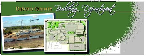 DeSoto County Building Division Header