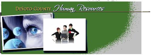 DeSoto County Human Resources Department Header