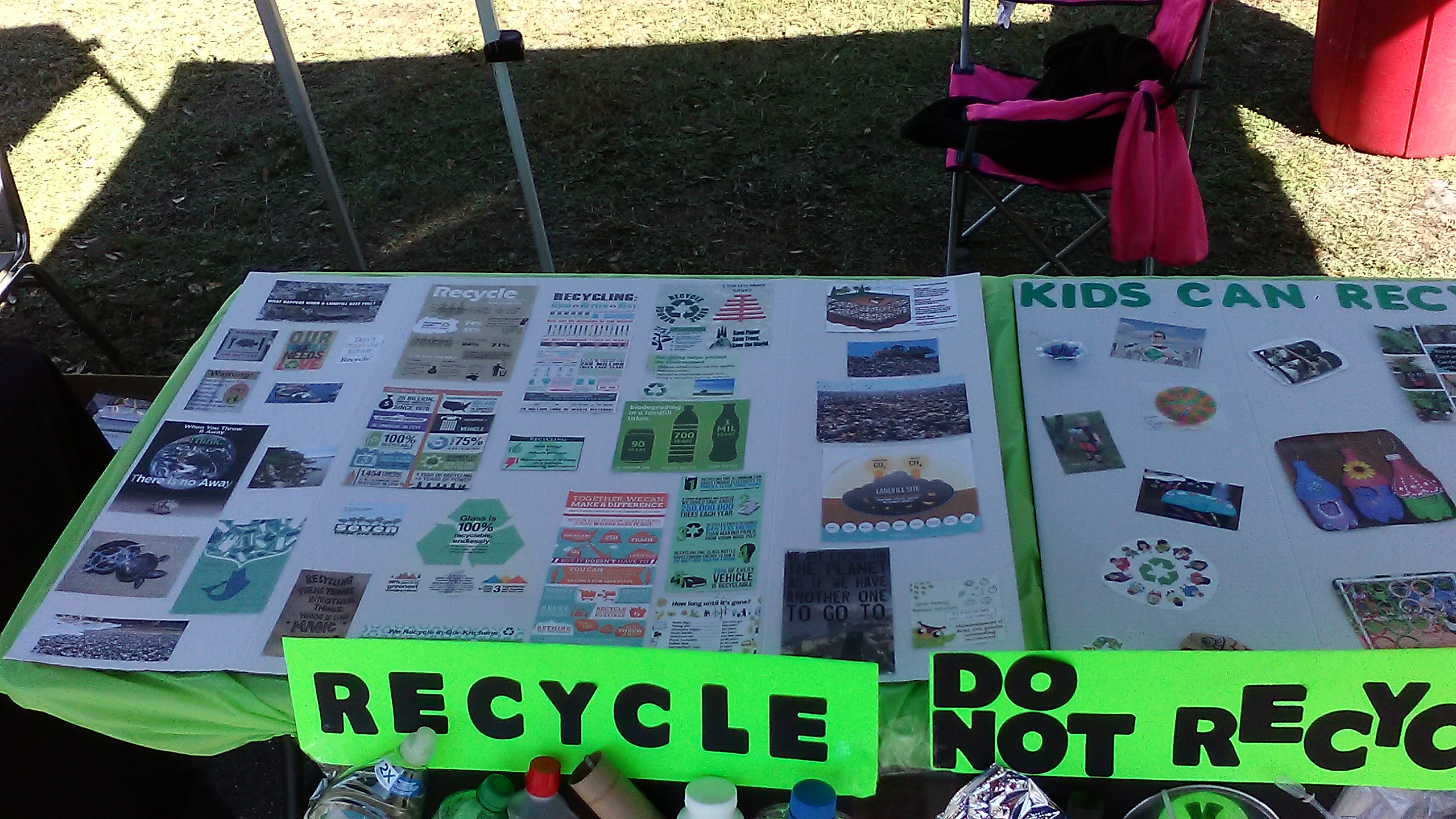 Recycle Poster Boards