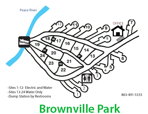 Brownville Park Map