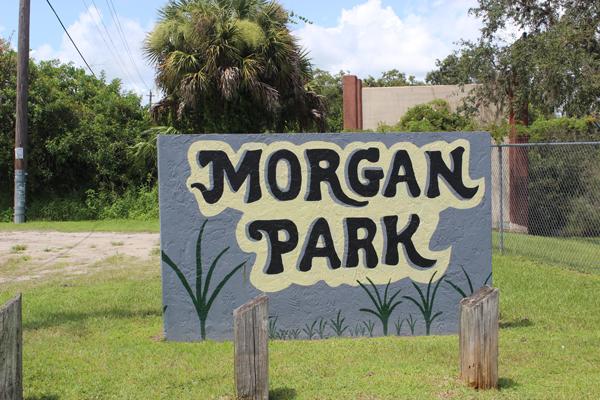 Morgan Park Sign