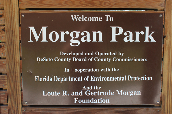 Morgan Park Welcome Sign