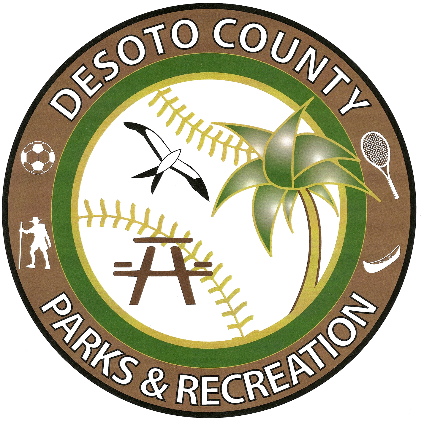 DeSoto County Parks and Recreation Seal