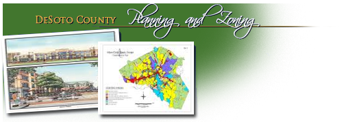 DeSoto County Planning and Zoning Division Header