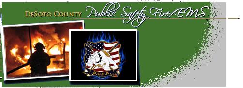 DeSoto County Public Safety Department Header