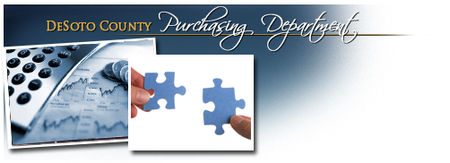 DeSoto County Purchasing Department Header