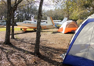 arcadia florida desoto county airport campsite draws a crowd