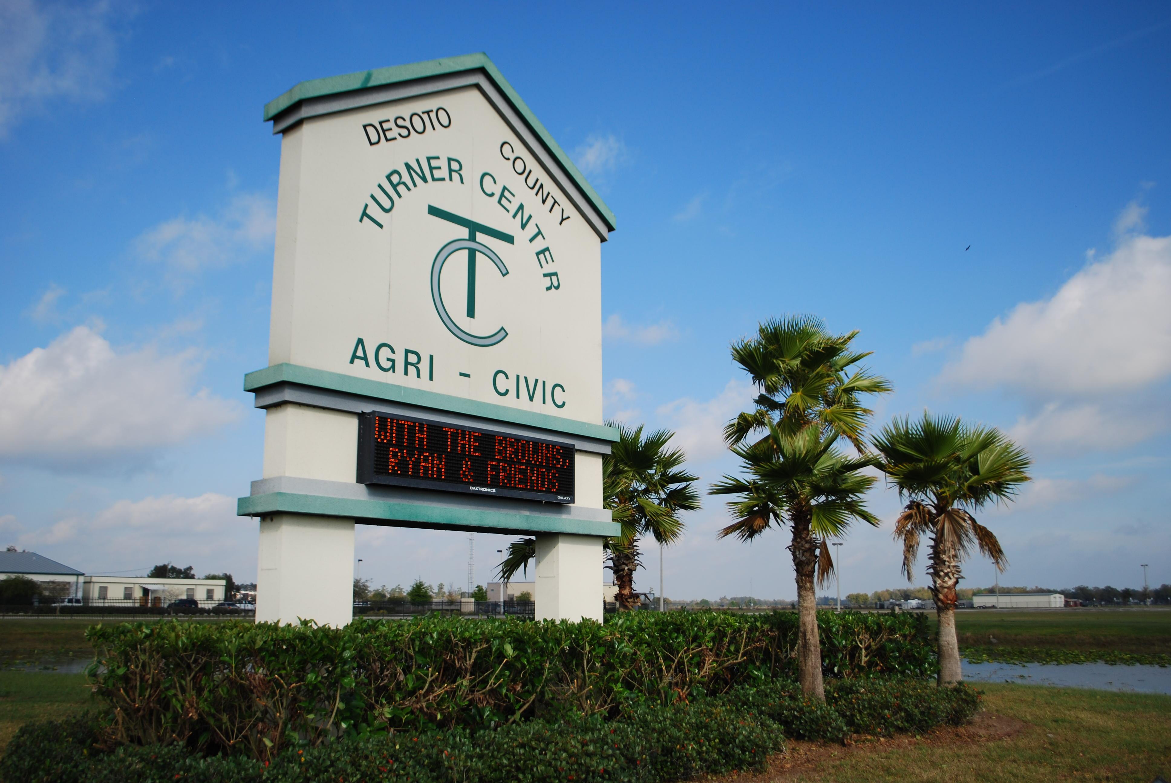 Turner Agri-Civic Center Sign