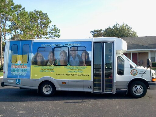 DeSoto Arcadia Regional Transit (DART) bus commuter public transportation system Arcadia Florida
